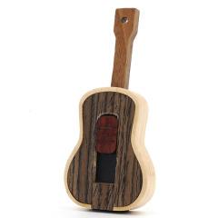 U盘定制 创意竹木U盘 音乐乐器U盘 乡村吉他优盘 跟音乐和电影有关的小礼品