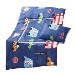 【汽车城】长方形两用抱枕被亲肤柔软磨毛面料 活性印染 公司内部培训奖品