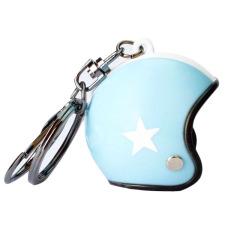 創意摩托車頭盔鑰匙扣掛件 可愛卡通掛件 稀奇古怪小禮品