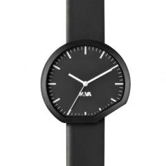 意大利进口 NAVA Ora Timepieces 时尚概念真皮表带手表/腕表