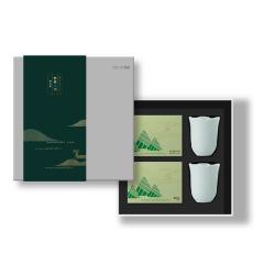 ZENS 粽情一刻·青瓷茶杯端午礼盒 陶瓷茶杯+五芳斋美味粽组合礼盒 端午商务礼品