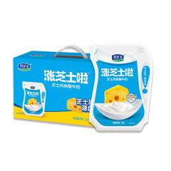 【京东伙伴计划—仅限积分兑换】芝士浓缩酸牛奶 涨芝士啦 芝士味180g*12袋整箱