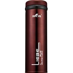 德国司顿(STONE)商务真空超轻带茶隔保温杯 500ML  STY083R