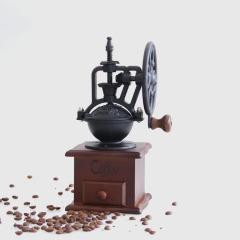 復古手搖咖啡研磨機便攜式手動咖啡機 公司團建 禮物