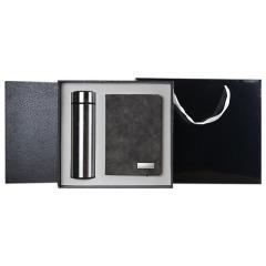 商务礼品两件套  保温杯+护照包  公司比赛奖品
