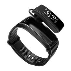 时尚商务蓝牙耳机手环二合一 健康心率计步手表礼品   年会奖品  数码礼品定制