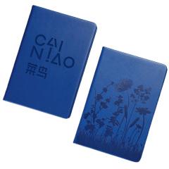 A5平装笔记本 糖果色压花商务笔记本 本册定制 房地产开会送礼品