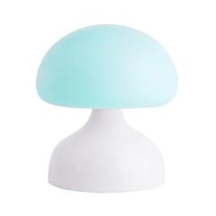 蘑菇小夜燈硅膠遙控臺燈  年會獎品