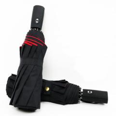 超大10骨双层全自动开收晴雨伞LOGO定制遮阳伞