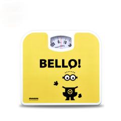 神偷奶爸小黄人机械环保健康体重秤  健身礼品