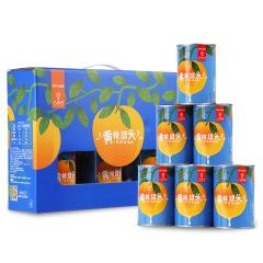 【京东伙伴计划—仅限积分兑换】黄桃罐头礼盒425g*6 出口日本级 水果罐头