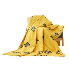 神偷奶爸小黄人欢乐舒适被 一被多用夏凉被 活动宣传礼品