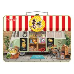 【京東伙伴計劃—僅限積分兌換】好麗友(orion)定制零食禮盒 薯愿音樂禮盒 48g*12包