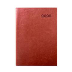 2020年历记事本日程本效率手册 耐脏耐用软皮计划本 企业活动可定制