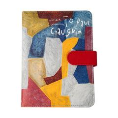 To pau Gaugvin 致謝爾蓋手賬本 皮面油畫筆記本 創意商務禮品