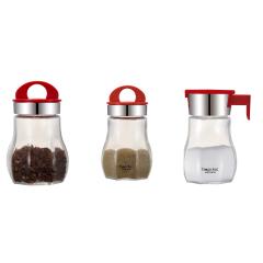 JOHN BOSS(英国)快乐厨房-调味三件套175ml容量调料瓶套装 开业促销礼品赠品
