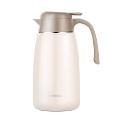 ONE2GO 简欧居家保温壶大容量家用暖瓶按压式保温瓶 客户送礼送什么