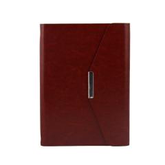 高档商务记事本 三折活页笔记本(多种规格)