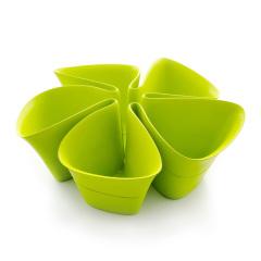 Artiart(台湾) 桌面花型收纳盒遥控器手机杂物分类收纳盒客厅 60到80元左右的礼品