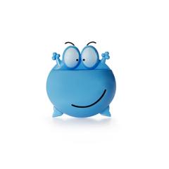 大眼青蛙吸盘式牙刷架--蓝色