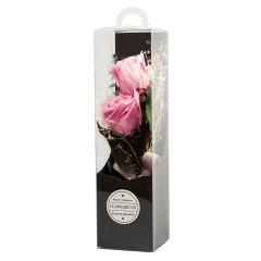 創意永生花禮品 精美玫瑰花束 三八節禮品 商場活動禮品