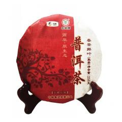 中粮中茶高原原生态普洱茶258g  中秋茶礼