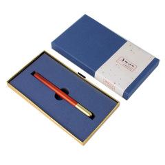 【知书文房】创意特色红木签字笔套装 可定制logo 管理层会议礼品