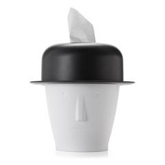 创意迈克两用迷你桌面垃圾桶 卫生卷纸筒