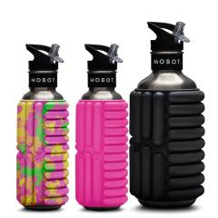 美国MOBOT健身水杯滚筒按摩水壶 户外运动健身不锈钢水瓶 运动 活动礼品