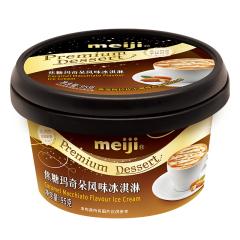 【京东伙伴计划—仅限积分兑换】明治(meiji)焦糖玛奇朵风味冰淇淋 95g/个 高级杯装