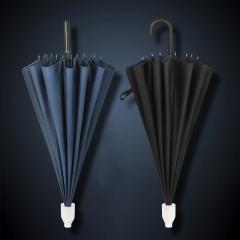 超大16骨雙人直桿傘長柄遮陽傘廣告傘logo定制 實用性比較強的禮品