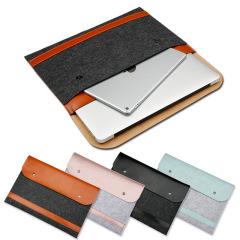 Macbook苹果电脑包 笔记本电脑包 横款磁扣内胆包 创意商务礼品