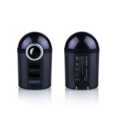 REMAX 乐萌系列手机充电器2.1A双USB折叠直冲卡通手机充头