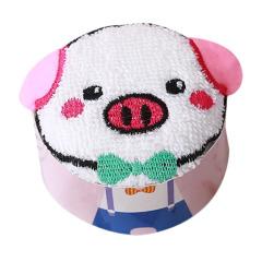 【白色小猪】PVC盒装  纯棉萌猪驾到 猪年伴手礼 春游活动小奖品
