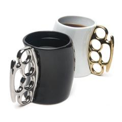 创意拳击杯 陶瓷拳击水杯 外贸经典重拳马克杯 宣传小礼品