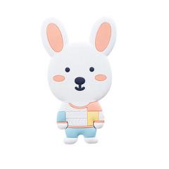 【小萌兔】可爱卡通动物化妆镜 PVC软胶随身镜 mini萌物镜子 展会礼品 促销活动礼品