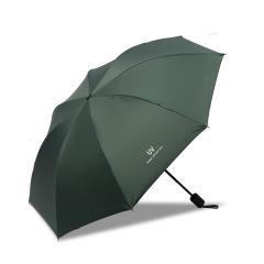 三折黑膠雨傘 簡約樸素晴雨兩用 小巧輕盈高效涂層 生活實用禮品