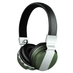 高端重低音头戴式耳麦 无线蓝牙耳机 带插卡 FM收音 金融行业礼品 歌唱比赛奖品