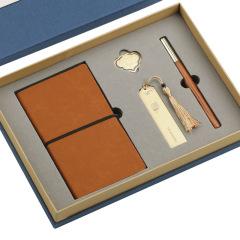高档红木套装 签字笔+书签+如意夹+记事本四件套 适合商务送礼的礼品