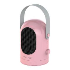 便携手提式暖风机 家用小型摇头冷暖两用办公室取暖器 迷你电暖器 适合冬天的小礼品