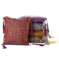 古典印花竹炭包空氣凈化 吸引客戶的小禮品有哪些