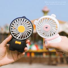 极地物种手持风扇 迷你便携USB带挂绳充电风扇 最实用的广告小礼品
