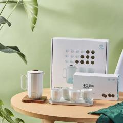 【温度·居家】福鼎白茶*36+一壶四杯礼盒套装 送客户礼物送什么好