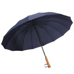 实木高尔夫长柄伞 创意商务广告伞 公司搞活动送什么