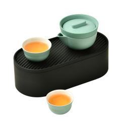 红点设计奖 小泡蛋P1 便携旅行茶具套装 办公室泡茶快客杯套装 商务礼品
