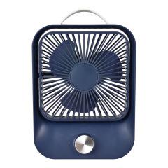 簡約設計感手提風扇 夏季桌面小風扇 辦公室禮品定制