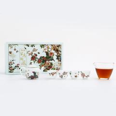 百鸟朝凤茶具套装礼盒 家用中式盘茶陶瓷 给员工的奖励可以有哪些