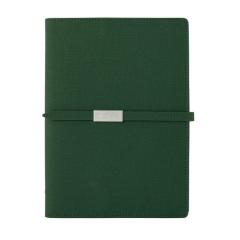 文艺变色布纹/树纹笔记本 商务活页记事本 A5金属搭扣笔记本定制