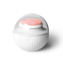泡芙声波洁面仪 超声波电动洗脸机 按摩毛孔清洁器 客户礼品 半点创意