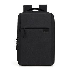 爱华仕(OIWAS)外置USB充电口商务双肩包 散热减震背包 公司年会准备的礼品